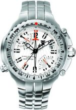 TX T3C051 770 Series Titanium Fly-back Chronograph Dual-Time Zone