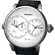Uhr-Kraft DualTimer Dual Time Automatic Business Classic