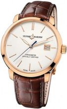 New Ulysse Nardin San Marco 18k Solid Rose Gold Automatic Chronometer 8156-111-2-91