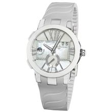 Ulysse Nardin 243103/391 Executive Dual Time Mother of Pearl Diamond Dial