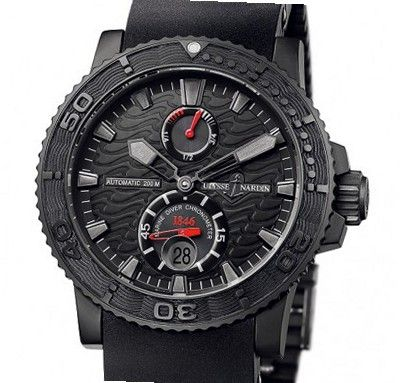 Ulysse Nardin Marine Collection Maxi Marien Diver Black Ocean Limited Edition