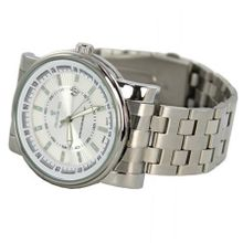 Charlie Jill  in Silver Dial Stainless Steel Bracelet, Perfect Gift Idea