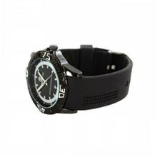 Plerre Jill 'Avance'  in Black Dial and Black Silicone Strap