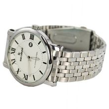 Sam Cafasso  in White Dial Stainless Steel Bracelet, Perfect Gift Idea