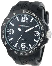 USMC Regimen RW1010 Classic Analog with Black Case, Faux Carbon Fiber Dial and White Markings