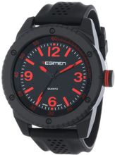 USMC Regimen RW1020 Black Analog with Black Dial and Red Markings