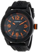 USMC Regimen RW1021 Black Analog with Black Dial and Orange Markings