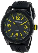 USMC Regimen RW1023 Black Analog with Black Dial and Yellow Markings