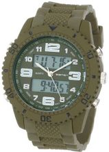 USMC Regimen RW1052 Green Analog-Digital Chronograph