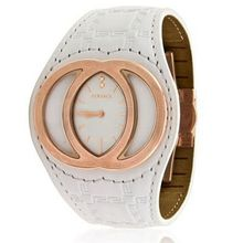 Gianni Versace Eclissi 84Q White Dial Rose Gold Ladies