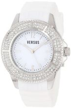 Versus by Versace 3C63700000 Tokyo White Dial Rubber Crystal