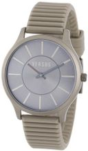 Versus by Versace 3C65900000 Less Grey Aluminum Sunray Dial Rubber
