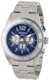Viceroy 432861-35 Real Madrid Round Stainless Steel Blue Dial Day Date