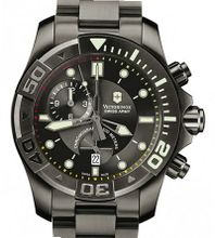 Victorinox Swiss Army Professional/Dive Master 500 Dive Master 500 Black Ice Chrono