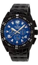 uVICTORY Victory Instruments V-Adventurer Chronograph Ip Black/Blue Sport 7011-UB