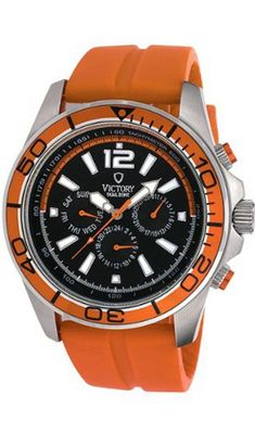 Victory Instruments V-Earth Silicone Dual Zone Orange/Orange Silicone Sport 5127-OOR