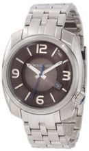 Vince Camuto VC/1000GNSV The Pilot Gunmetal Dial Date Function Silver-Tone