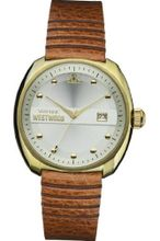 Vivienne Westwood Bermondsey Quartz with Silver Dial Analogue Display and Brown Leather Strap VV080SLTN