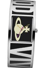 Vivienne Westwood Bond Quartz with Black Dial Analogue Display and Multicolour Stainless Steel Bangle VV084BK