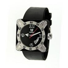 Deepest Lady Ladies in Black with Silver Bezel