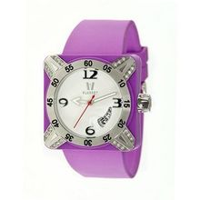 Deepest Lady Ladies in Purple with Silver Bezel