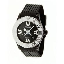 H2O Lady Ladies with Black Band and White Bezel