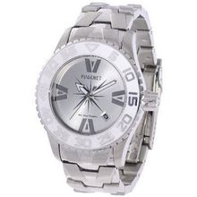 H2O Lady Ladies with Silver Band and White Bezel