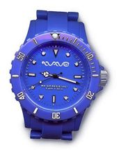 Wave Gear Unisex Sports Colourful Blue Ocean OC1001OB With Colour Matched Polycarbonate Strap