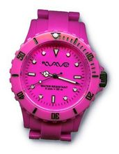 Wave Gear Unisex Sports Colourful Pink Ocean OC1001OPK With Colour Matched Polycarbonate Strap