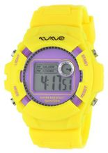Wave Gear WG-RF-YLPPL Reef Yellow with Purple Face Colorful Digital Sports