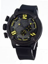 Welder 7104 K28 Chronograph Black Ion-Plated Stainless Steel Round