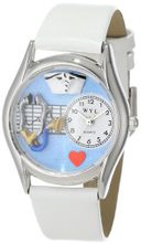 uWhimsical Watches Whimsical es S0610002 Nurse White Leather