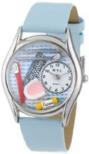 uWhimsical Watches Whimsical es S0610004 Dentist Baby Blue Leather