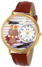 uWhimsical Watches Whimsical es Unisex G0640011 Knowledge Is Power Tan Leather