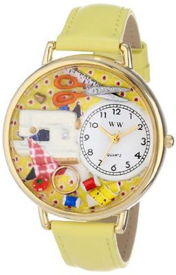 Whimsical es Unisex G0450001 Sewing Yellow Leather