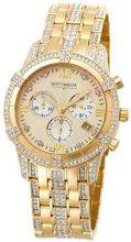 Wittnauer 12B14 Krystal Collection Genuine Swarovski Crystal Accented