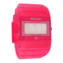 uWize and Ope Wize & Ope Unisex Seventy Seven Digital WO-77-8 with Pink Dial and Touch Screen
