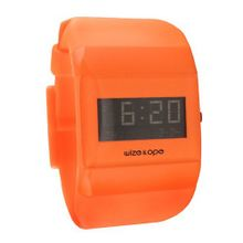 Wize & Ope Unisex All Over Digital WO-ALL-12 with Orange Dial and Touch Screen