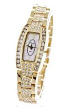 CHIC Ladies 18K Plated BLING Bracelet Crystal Made with SWAROVSKI Elementsovement
