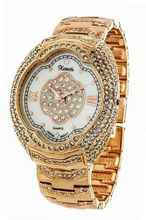 *Wow* Ladies 18k Rose Gold Plated Bling Made with Swarovski Elements