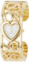 XOXO XO1091 Mother-of-Pearl Dial Gold-tone Bangle