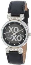 XOXO XO3063 Black Leather Strap