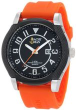 Yachtman YM0122OR Marley Textured Round Case with Black Dial
