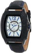 Yachtman YM0125BL Maverick Black Barrel Case with Silver Dial
