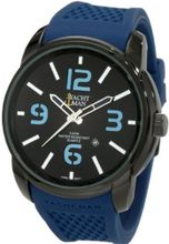 Yachtman YM0130BL Mason Oversized Round Case with Black Dial