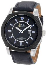 Yachtman YM0267BL Brad Textured Round Case with Black Dial