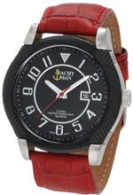 Yachtman YM0267RE Brad Textured Round Case with Black Dial