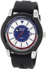 Yachtman YM0274BK Ralph Textured Round Case with Silver Sport Dial