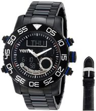 Yema COYMHF0110 Master Elements Venture Master Analog-Digital Display Quartz Black