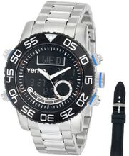 Yema COYMHF0112 Master Elements Venture Master Analog-Digital Display Quartz Silver